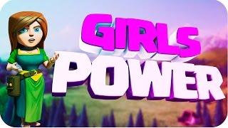 Clash of Clans | GirlsPower Super ataque Valkirias Arqueras Pekka | Sanadoras en Español