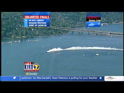 2012 Albert Lee Cup at Seafair Final Heat Unlimited Hydroplanes