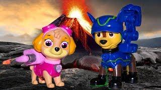 Щенячий патруль все серии подряд Видео для детей ЛАВА ЧЕЛЛЕНДЖ Мультики для детей про игрушки