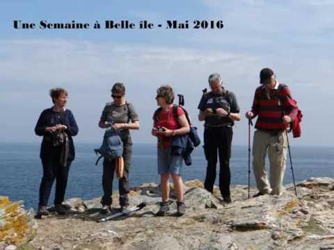 Rando d'une semaine à Belle île, du 25 au 31 mai 2016 ( 90kms )