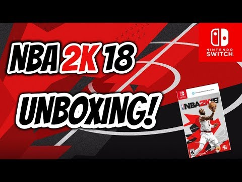 My Unboxing Of NBA 2K18 Switch Version.  It's About To Get Serious!