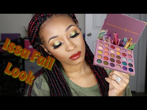 Fall Makeup Tutorial Using the KathleenLights x Colourpop So Jaded  Palette thumbnail