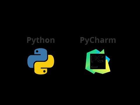 Установка интерпретатора, создание проекта в PyCharm
