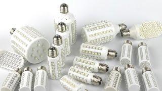 Как светят китайские светодиодные лампы(Китайские светодиодные лампы для домашнего освещения. Обзор, тест и итог. https://www.youtube.com/watch?v=9Sr89BRnIag - часть 2., 2014-12-12T14:56:12.000Z)