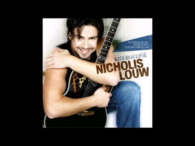South Africa Nicholis Louw Shine - Jys Net Die Een Vir My