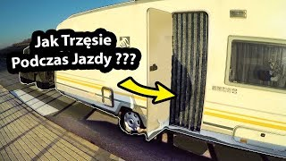 Przyczepa Kempingowa i JAZDA w ŚRODKU - Jak To Wyglada? (Vlog #257)