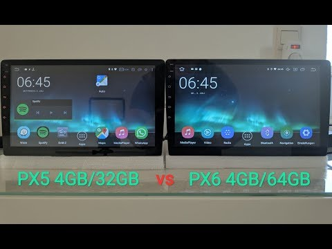 Repeat Android Radio PX5 (RK3368) vs PX6 (RK3399) Benchmark