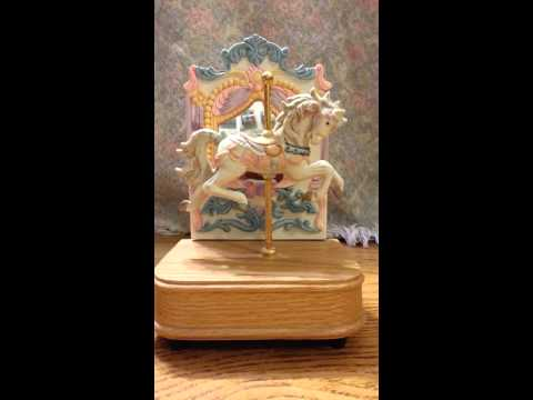 Carousel Horse Musicbox
