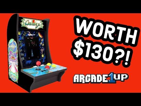 Galaga Arcade1Up Countercade - Hardware Review   DBPG from DBPG