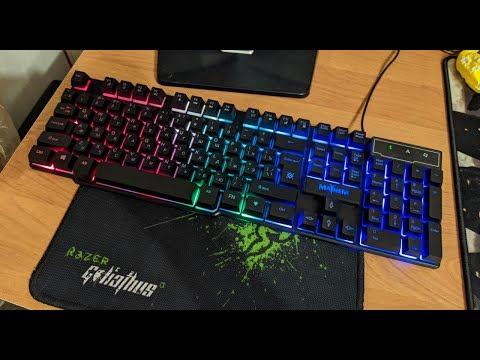 Лучшая игровая клавиатура Defender Mayhem за 500р?! - ОСТОРОЖНО, БРАК!!!