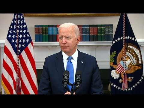 Biden: 'Work in progress' to stop Mideast clashes