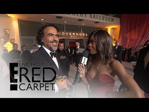 Alejandro Gonzalez Inarritu on Leo DiCaprio's Oscars Win | Live from the Red Carpet | E! News