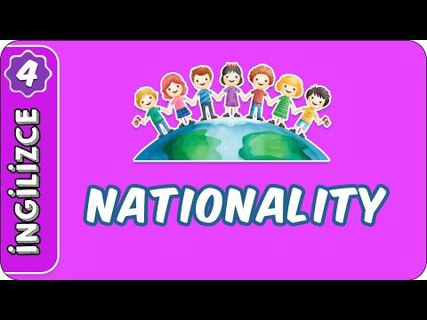 Nationality | 4. Sınıf İngilizce evokul Kampı