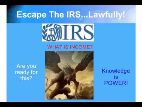 Liberty Zone Productions - IRS Disclosure, Pt. 2: What is Lawful Income?