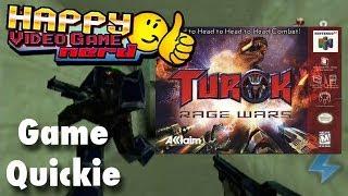HVGN Game Quickie: Turok: Rage Wars (N64)