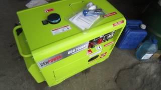 видео генератор дизельный 6 7 квт с автозапуском