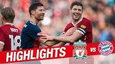 Highlights: Liverpool Legends 5-5 FC Bayern Legends | Alonso, Gerrard, Kuyt and more