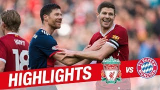 Download Highlights: Liverpool Legends 5-5 FC Bayern Legends | Alonso, Gerrard, Kuyt and more Mp3 and Videos