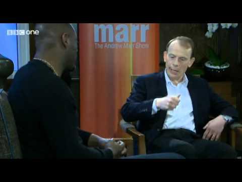 Andrew Marr Idris Elba Mandela Film