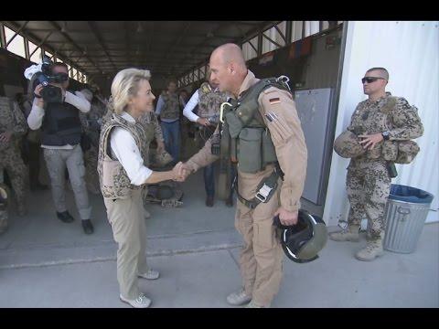 Truppenbesuch der Bundesministerin in Afghanistan, Juli 2014