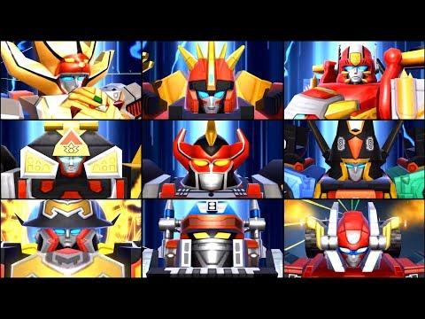 Power Rangers All Stars - View All Megazords