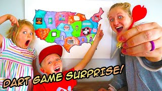 Throwing A Dart At A Map And Playing Whatever Game It Lands On! / The Beach House