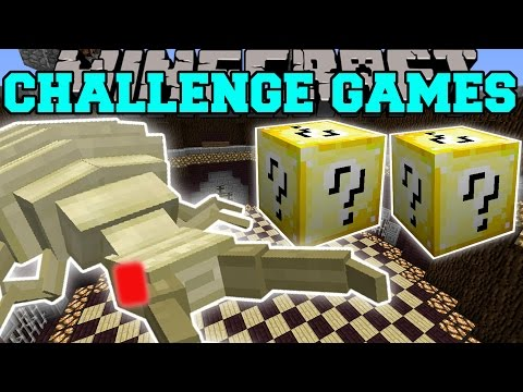 Minecraft: ANTLION OVERLORD CHALLENGE GAMES - Lucky Block Mod - Modded Mini-Game