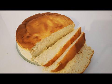 gâteau-japonais-au-fromage-blanc-avec-4-ingrédients-de-base