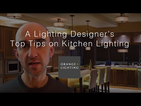 Five Tips on Kitchen Lighting