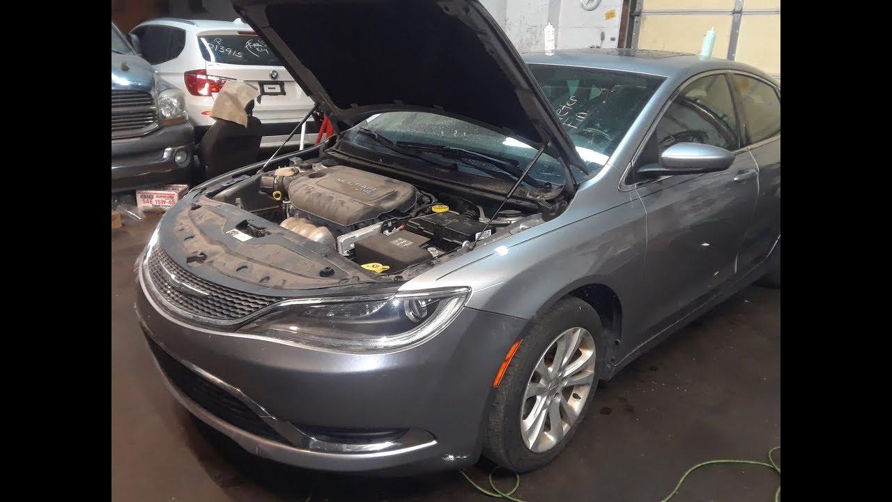 Chrysler 200 Fuse Box