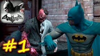 Прохождение Batman: Arkham City Lockdown эпизод 1