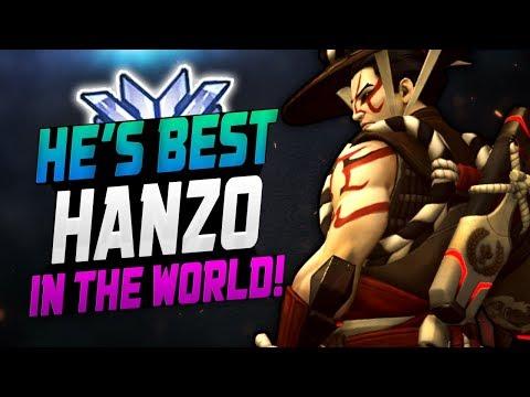 WRAXU - World Rank #1 Hanzo! [ OVERWATCH SEASON 12 TOP 500 ] thumbnail