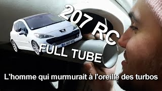 Fabrication d'un FULL TUBE pour la 207 RC