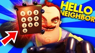 COULD THE KEYPAD HOLD MORE SECRETS IN HELLO NEIGHBOR?! | Hello Neighbor Gameplay (Theory Testing)