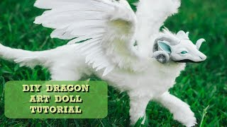 DIY Poseable Winged Dragon Art Doll Tutorial
