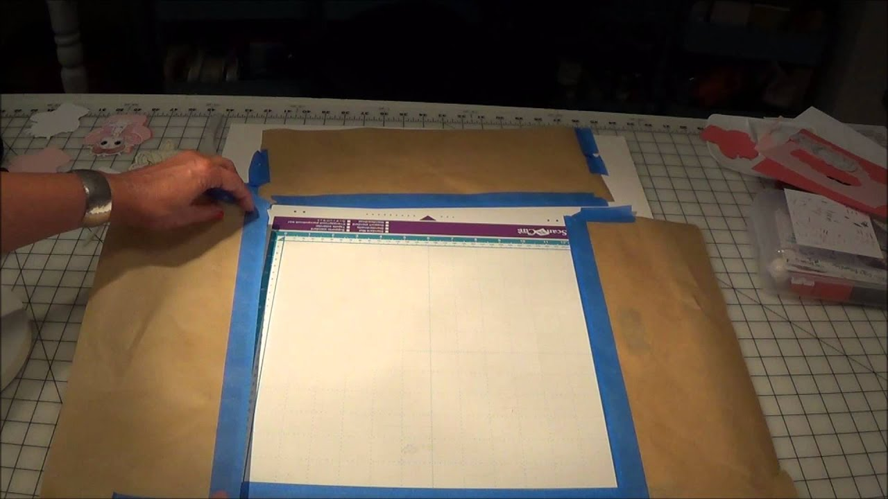 Put The Sticky Back In Your Mat Scanncut Silhouette Cameo Cricut The Easy Tack Way