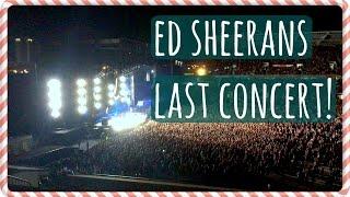 Ed Sheeran's Last Concert (12 Dec, Auckland 2015)    JessChillin@Xmas - Day 12