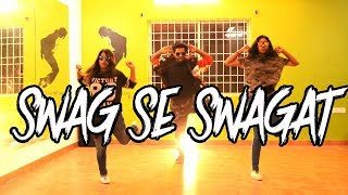 Swag Se Swagat Song DANCE CHOREOGRAPHY  | Tiger Zinda Hai from bangalore