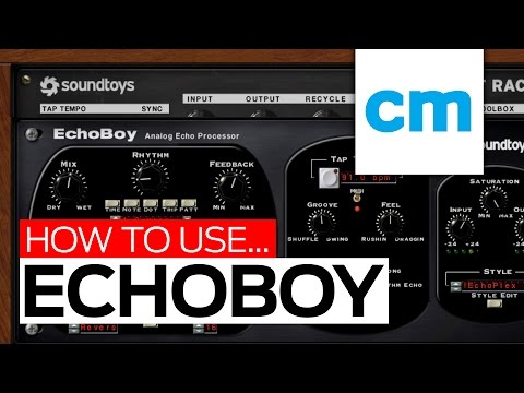 Soundtoys EchoBoy's Saturation and Echo Styles - 5 of 7
