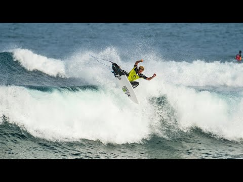 John John Florence scores Perfect 10 at Bells Beach