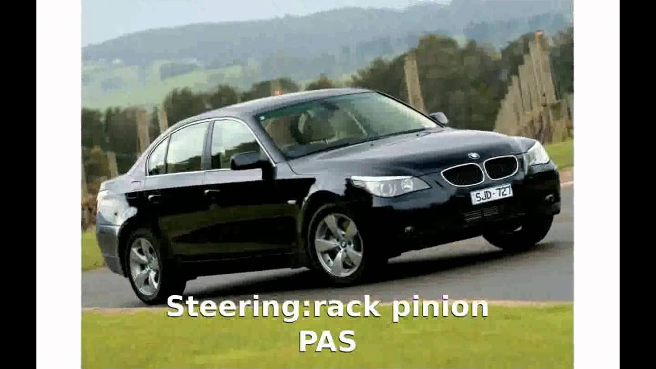 shaeuanca] 2007 BMW 530i E60 Specs - YouTube
