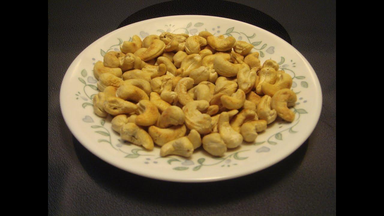 how to make roasted cashews