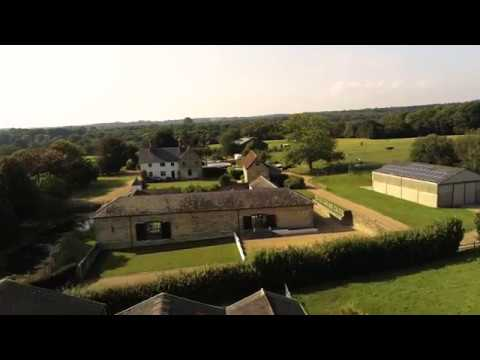 Hendall Manor Barns Aerial Footage