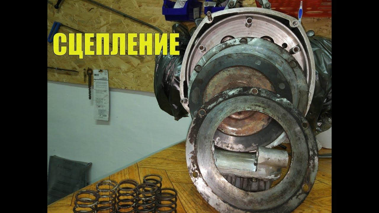 Установка сцепления на мотоцикл Урал. - YouTube