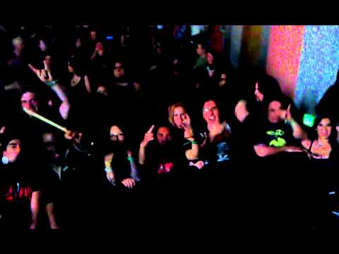 Metal Sanaz with ScionFest's Crazzzzy Fans
