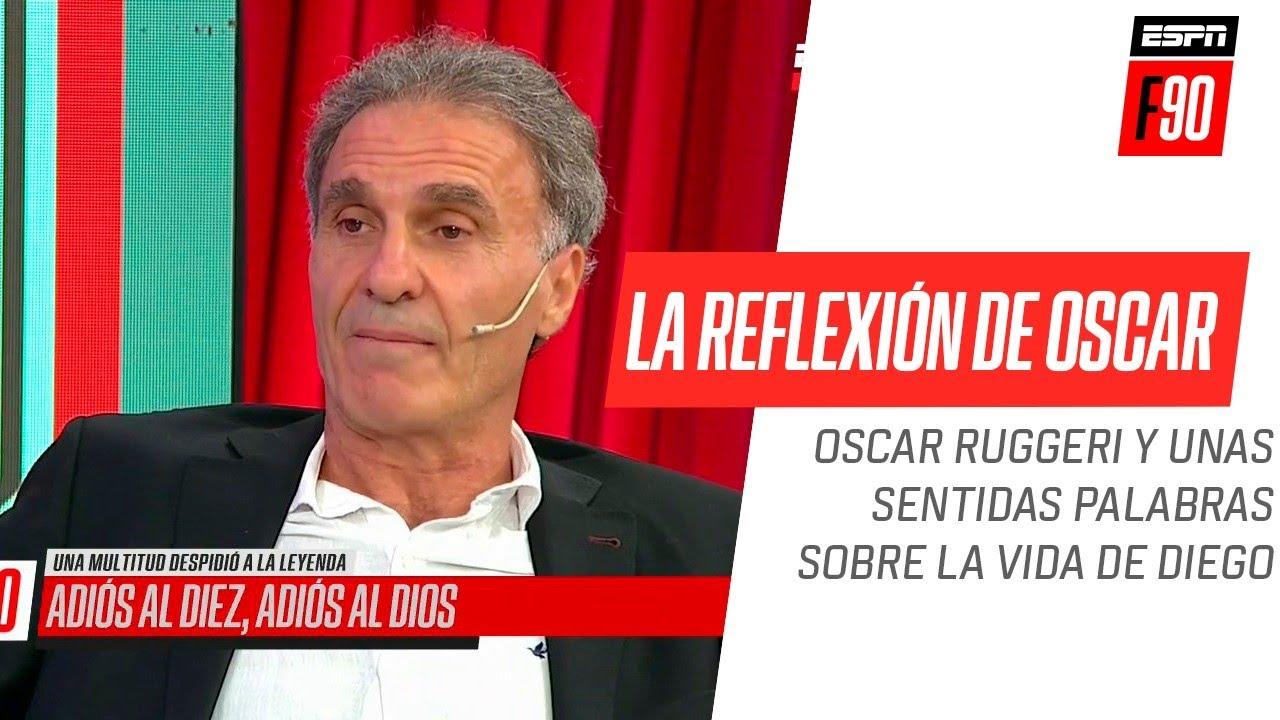 El Cabezón #Ruggeri y una reflexión muy sentida sobre la vida de #Diego