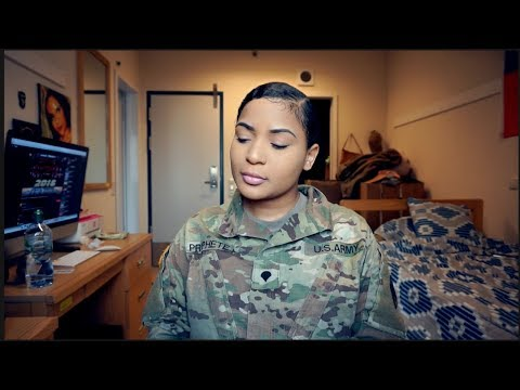 Military Mondays: Makeup Routine | Army Edition