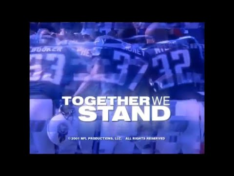 "2000 Tennessee Titans Yearbook ""Together We Stand"""