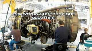 Air France : Les coulisses de la révision moteur
