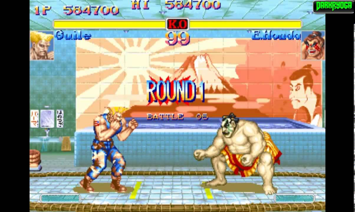 Super Street Fighter Ii Turbo Arcade Cps2 Guile Playthrough
